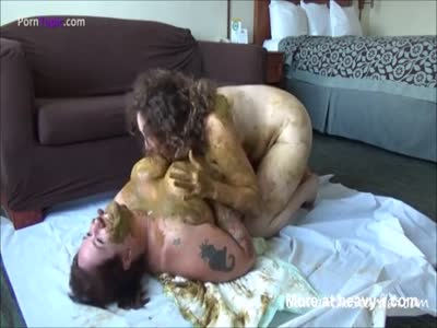 Fat Lesbians Play With Shit