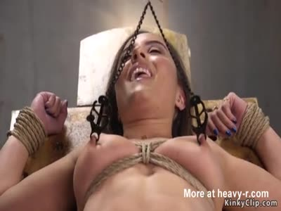 Hairy pussy babe throat and cunt banged