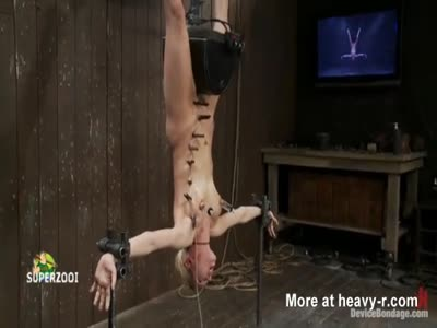 Blonde Submissive Abused In Dungeon