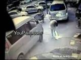 Woman Explodes