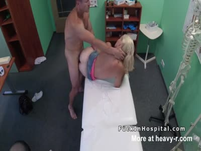 Doctor Fucking Hot Blonde Patient