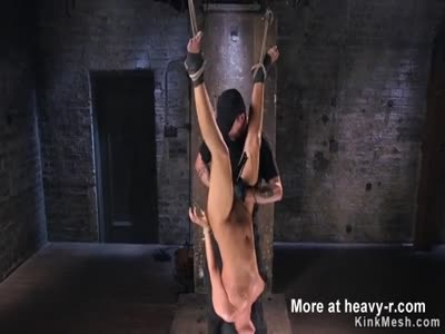 Fisted In Ankle Bondage