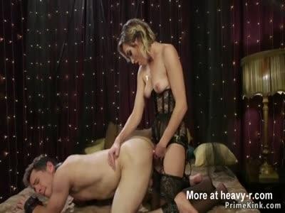 Pegging Her Sub