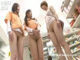 Bare ass shopping