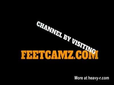Sexy German Feet on Cam