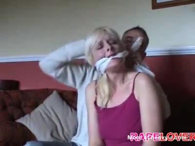 Blondie Raped In Own Home
