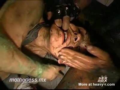 Poor Girl Used And Abused In Gangbang