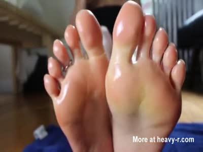 Oiled Feet