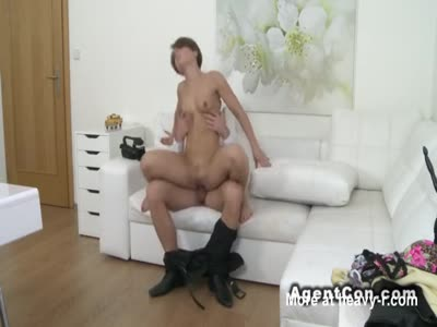 Girl Riding Casting Agent's Dick