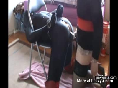 Femdom Humiliation With Strapon