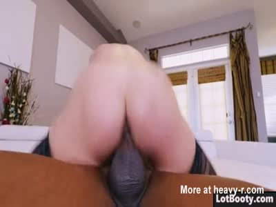Big ass MILF with juicy boobs gets huge black dick