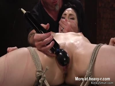 Brunette Whipped And Toyed By Master