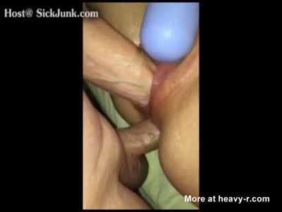 Fisting While Fucking Her In The Ass