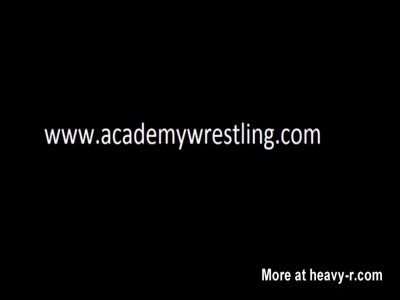 Topless wrestling and erotic domination in Academy Wrestling