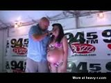 Tattooed Pregnant Girls Bikini Contest