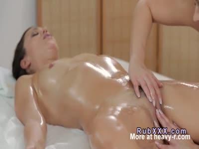 Oily Fingering Massage