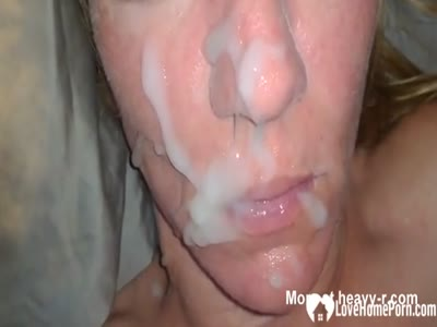 She likes when I cum on her face