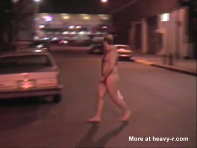 DAVID CHERIANO STREET STRIP NUDE IN NYC!