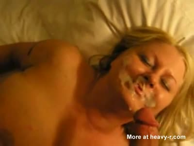 Massive Facial For Chubby Girl