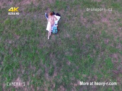 Sunbathing Teen Spied By Voyeur Drone