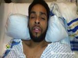 Cancer patient Brandon Sanchez