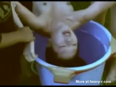 Drowning Naked Teen