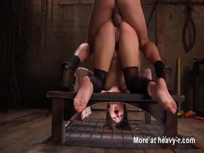 Fucked In Bondage Device