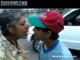 Kiss Grandma!