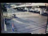 Woman Ignores Train And Is Killed