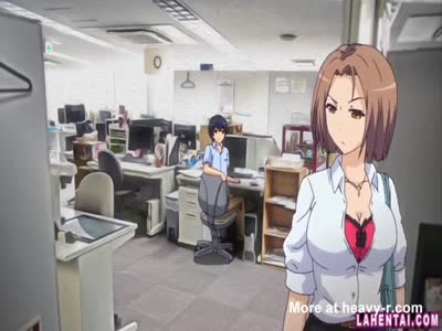 Hentai Babe Rideing In Office