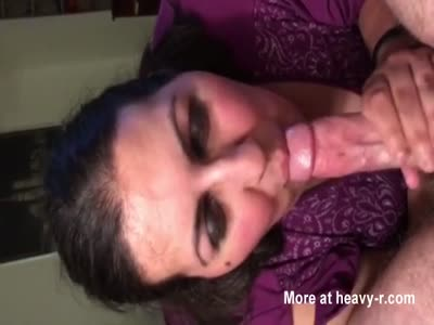 Mom Sucks Cum From Cock