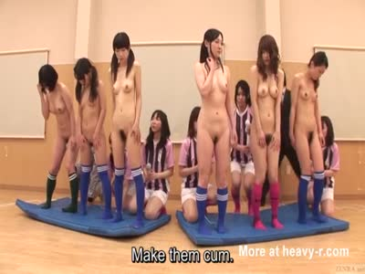 Japanese Masturbation Soccer Team