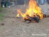 Burned Alive For Stealing Potatoes In Kenya