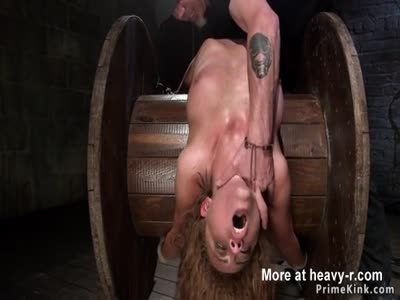Clamped Pussy Lips And Nipples