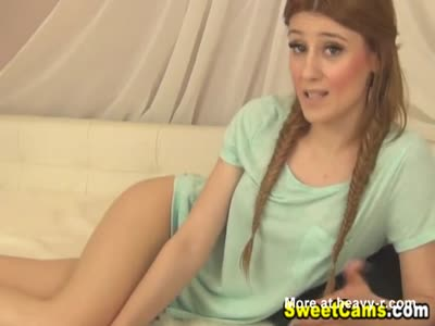 Pigtails Teen Toyfucker