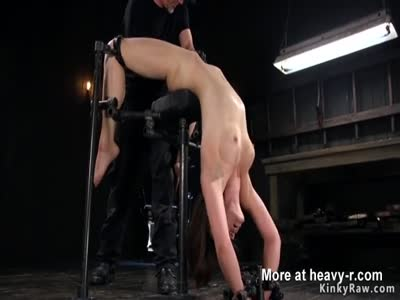 Pussy Play In Bondage