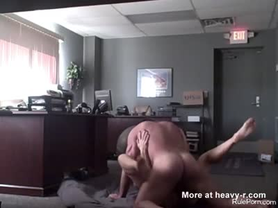 Secretary Fucks Boss In Office