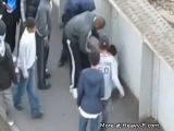 Injured boy gets robbed by bystanders