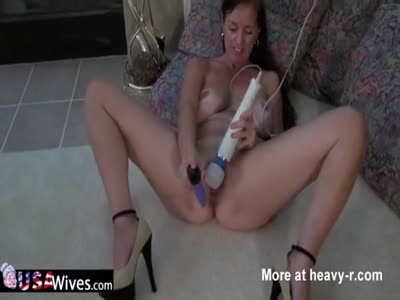 Rose Masturbating On The Floor