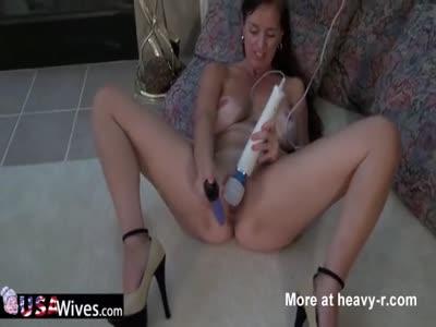 Rose Masturbating On The Floor