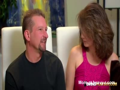 Kimberly and Michael Swing on television