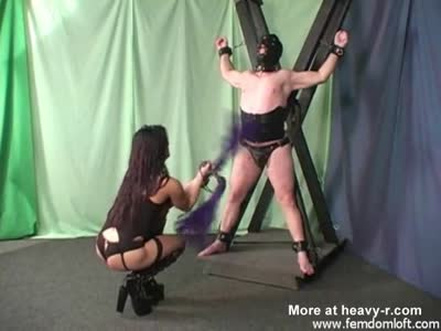Abused bdsm male sub