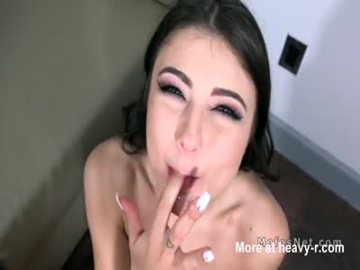 Girlfriend Swallows Cum On Date Night