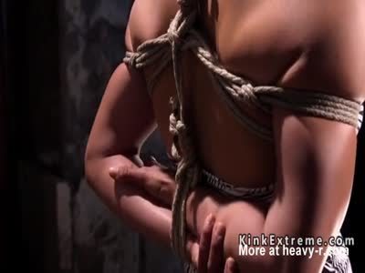 Hogtied And Toyed