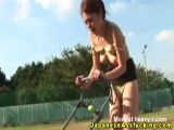 Asian MILF Outdoor Forced Assplay
