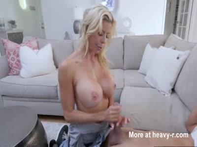 Busty Mom Tit Fucking Son