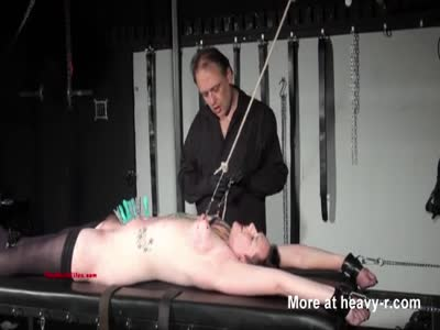 Tattooed Slave In Punishment Rack
