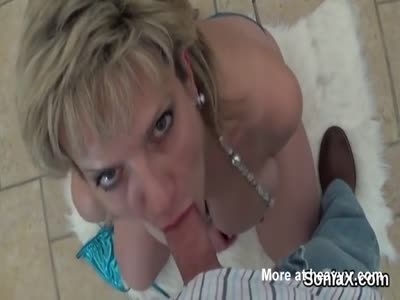 Unfaithful Milf Sucking Cock