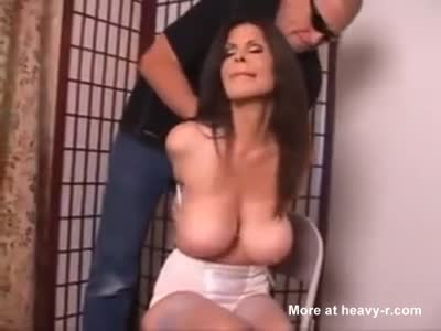Big Tit Slut Tied and Abused