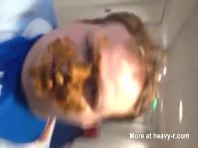 Public Shitface In Hotel